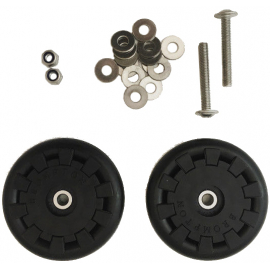 Brompton Eazy Wheel Rollers With Fittings (Pair)