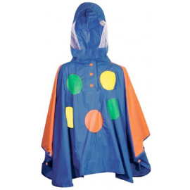 Fastrider Kids Raincape Balloon Blue