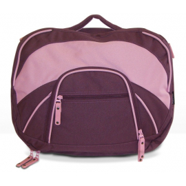 FastRider Ladies Laptop Rear Pannier Bag Aubergine