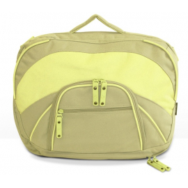 FastRider Ladies Laptop Rear Pannier Bag Green Tea