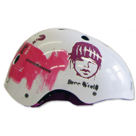 Lazer One Trashy Helmet White Pink