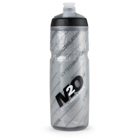 M2O Insulated Pilot Water Bottle Grey/Black