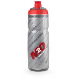 M2O Insulated Pilot Water Bottle Grey/Red