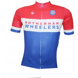 Rotherham Wheelers Classic Womens Short Sleeve Jersey
