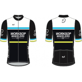 Worksop Wheelers Classic Short Sleeve Jersey