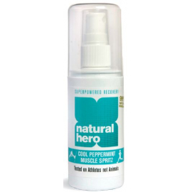 Natural Hero Freeze and Ease Sports Spray 100ml Peppermint