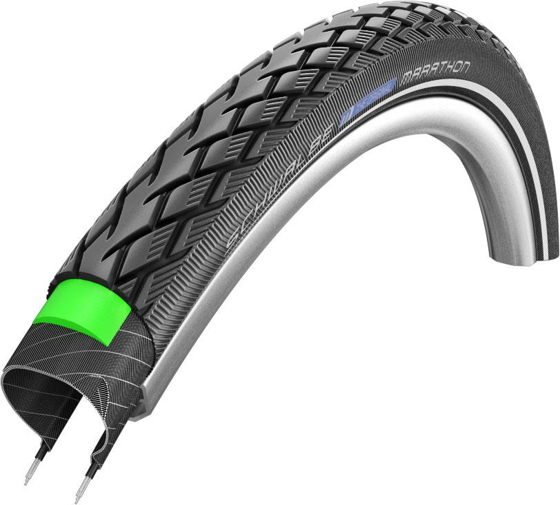 Schwalbe Marathon Performance Wired Tyre Black//Reflex 26 x 1.25