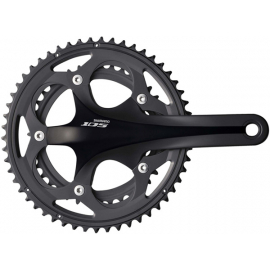 Shimano FC-5750 105 Compact Chainset HollowTech II 175mm Black
