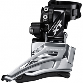 Shimano M8025-H Double Front Derailleur, high clamp, down swing