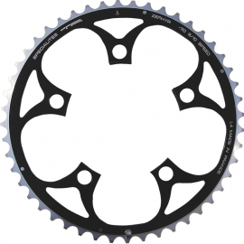 TA Zepher Outer 110PCD 5 Arm Chainring Black 50T